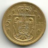 ROMANIA 5 LEI 1930 STARE XF - AUNC - Moneda Romania