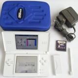 Nintendo DS Lite + joc Spongebob borseta incarcator stylus capacGBA consola