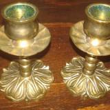 Set Sfesnice Bronz Masiv - Metal/Fonta