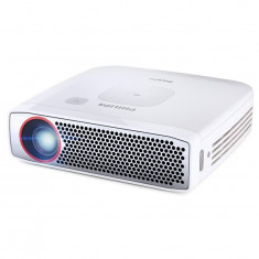 Videoproiector mobil Philips PPX4835 Alb