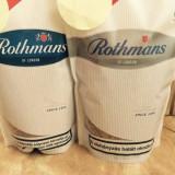 Tutun Rothmans blue/silver