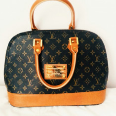 Geanta Louis Vuitton - Geanta Dama Louis Vuitton, Culoare: Coffee, Marime: Mare