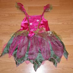 Costum de carnaval serbare zana pentru copii de 3-4 ani - Costum Halloween, Marime: Masura unica, Culoare: Din imagine